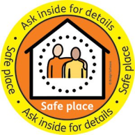 Safe Place Scheme Widgit logo