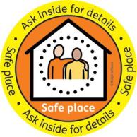 Safe Place Scheme Widgit logo